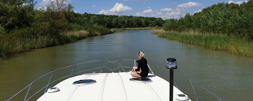Hausboot mieten Theiss in Ungarn