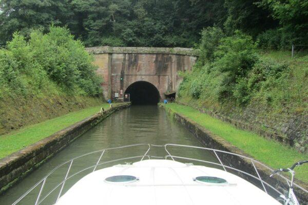 tunnel Niderviller im Elsass