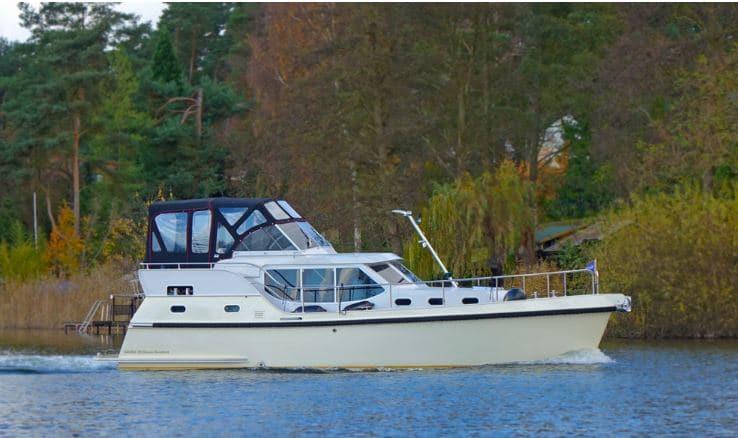 Boot fahren Gruno 35 Excellent