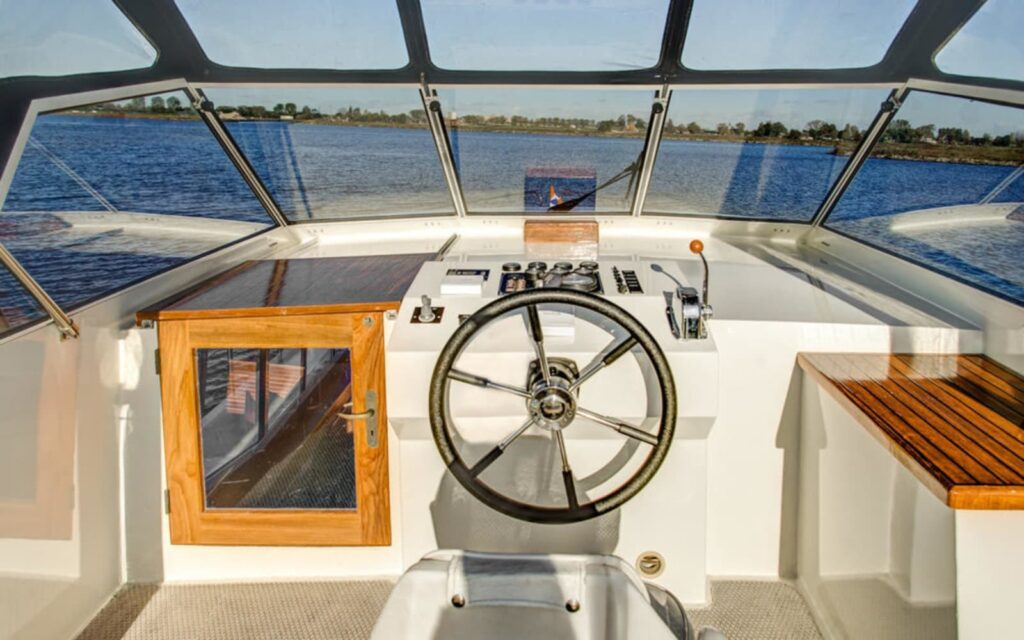 Aussendeck Boot Tauris