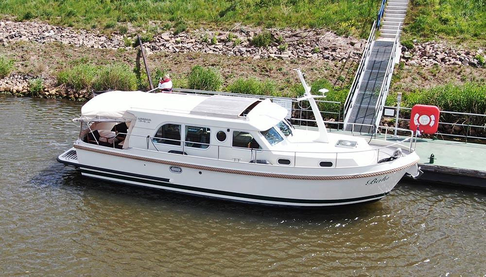 Persenning Boot Linssen 349 Sedan