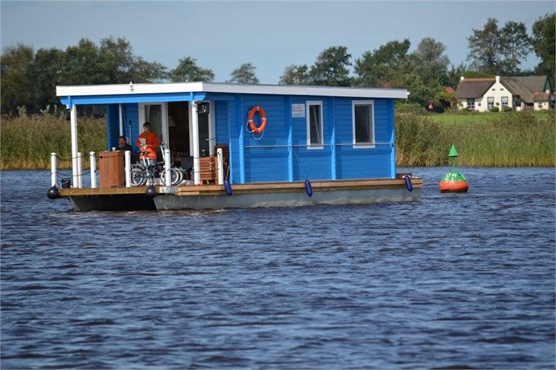 Fahrt Hausboot Bunbo