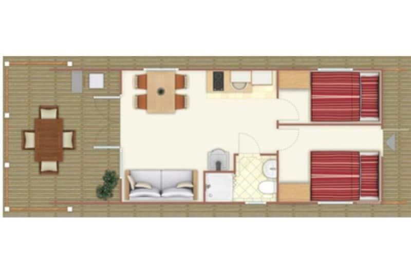 Grundriss Hausboot Bunbo