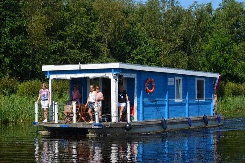 Fahrerstand Terrasse Hausboot Bunbo