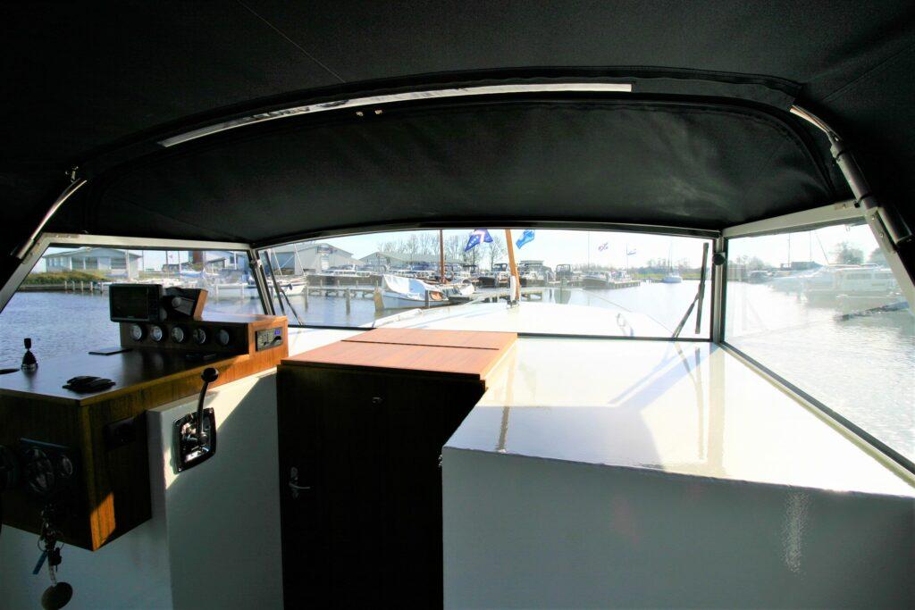 Steuerhaus Boot Doerak Aquarel