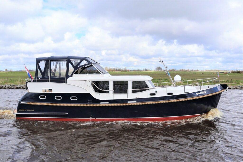 Steuerbord Boot Gruno 41 Sinneskyn