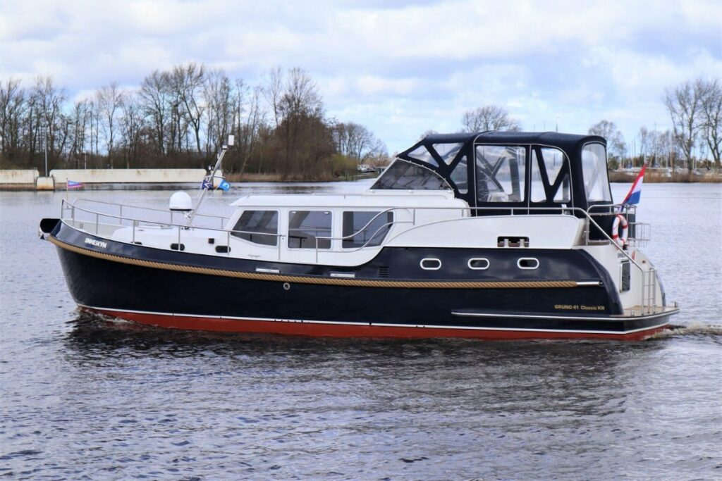 Friesland Boot Gruno 41 Sinneskyn